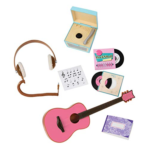 Our Generation BD67037 Retro Music Accessories Set