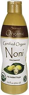 Swanson Certified Organic Noni 32 fl Ounce (1 qt) (946 ml) Liquid