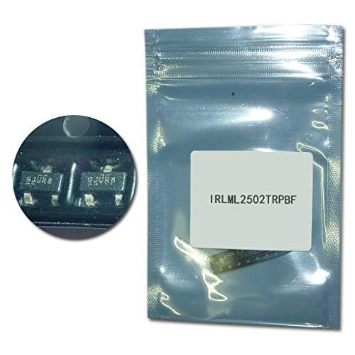 50 Stück/Charge IRLML2502TRPBF SOT23 smd Transistorkit IRLML2502 SOT-23 Transistoren Set IRLML2502TR Power MOSFET Transistor Pack