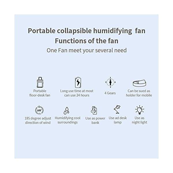 XIYAN-Tridimensionales-telescpica-Ventilador-Ventilador-de-Altura-Ajustable-Suelo-Ventilador-USB-con-funcin-de-Recarga-humidificador-de-Aire-Utilizar-en-el-hogar-al-Aire-Libre-Oficina-Y
