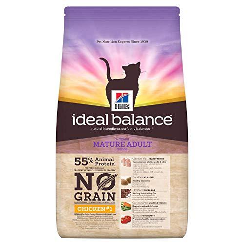 Hill's Ideal Balance Katzenfutter für ausgewogene Verdauung, gesunde Haut, glänzendes Fell, Starkes Immunsystem, Knochen und Zähne, Hühner und Kartoffel, 1,5 kg