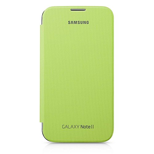 SAMSUNG EFC-1J9FLEGSTD Flip Cover per Galaxy Note 2, Verde