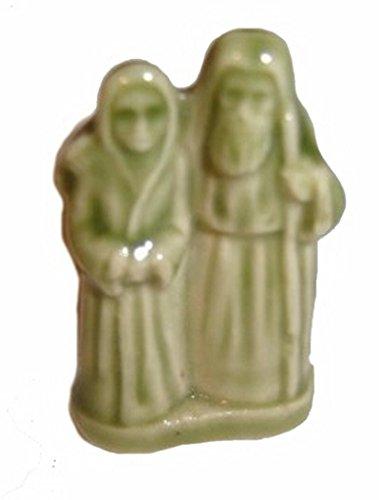 Noé et Sa Femme – (Thé Rose Rouge/WADE Figurine, Arche de Noé série 2002–2006)