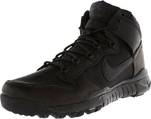 Nike SB Dunk High Boot, Zapatillas de Skateboarding Hombre, Negro (Black/Black), 47 1/2