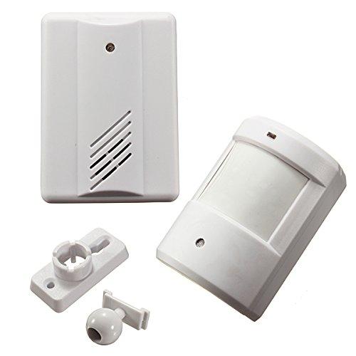 ILS draadloze deurbel alarmsysteem bewegingsmelder met ontvanger
