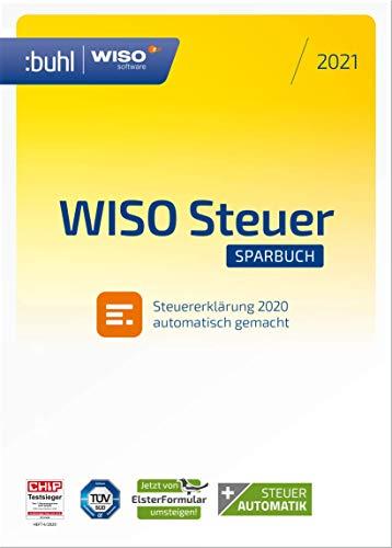 WISO Steuer-Sparbuch 2021 (für Steuerjahr 2020 / Frustfreie Verpackung) 2021 1 1 PC Disc Disc