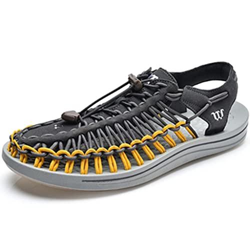 YUESFZ Zapatos para Caminar Al Aire Libre Femeninos, Botas Anfibias De Secado Rápido para Hombre, Sandalias De Playa Antideslizantes De Verano (Color : G, Size : US-6.5(Men))