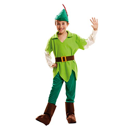 My Other Me Me-202056 Disfraz Peter Pan para niño, 7-9 años (Viving Costumes 202056)
