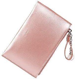 TazNha Small Coin Purse Card Holder Keychain Wallet Organizer for Women Ladies Girls
