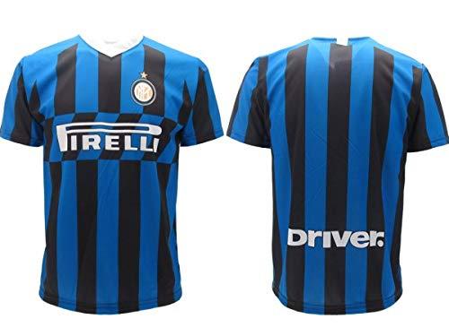 Inter Original-Trikot 2019 2020 Neutral für Erwachsene, ohne Name (UKAKU Sensi ASAMOAH POLITANO), Nerazzurro, Bambino 10 anni