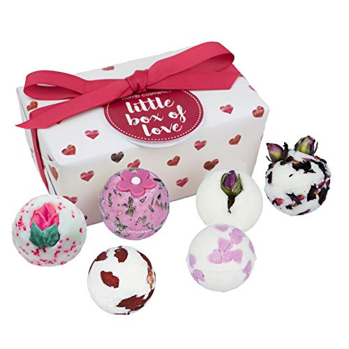 Bomb Cosmetics, Regalo para el cuidado de la piel (Little Box of Love, 6 productos) - 240 gr.