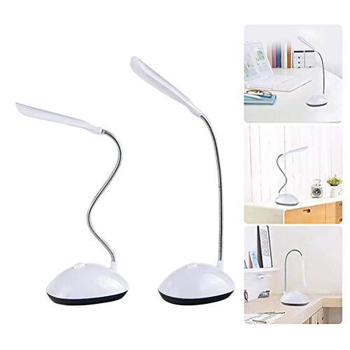 CJMING Schreibtischlampe, Um 360 ° Drehbare Led Leselampe, Knopfsteuerung Zum Lesen Von Büchern, Büro, Zuhause, Kind, Nachttisch, Bequemes Auge