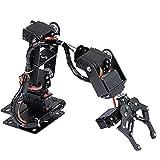 Braccio meccanico per robot con piastra in alluminio di alta qualità, manipolatore Parti di robot industriali Braccio meccanico flessibile ad alta stabilità, produzione fai-da-te per