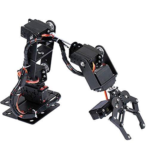 El Robot Industrial del Metal de la Garra del Robot Parte el...