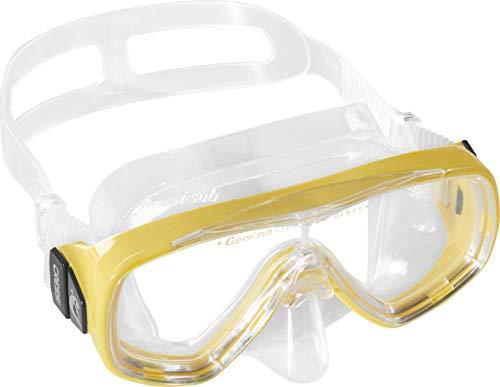 Cressi Estrella Jr Mask Kinder Tauchmasken, gelb, Uni