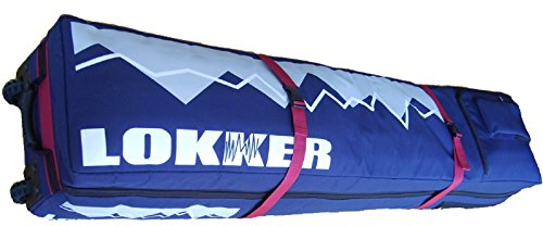 Lokker Double Wheelie Snowboard Bag – Big Robust Gepäck mit Rädern.
