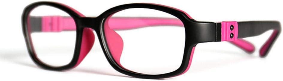Desconocido Gafas de computadora con Filtro de luz Azul ultraligeras, protección Ultravioleta Transparente para niños y niñas, para el Trabajo y el Aprendizaje, contra la Fatiga Visual-C1