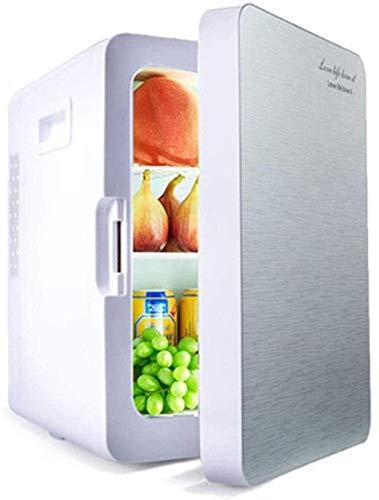 RTRD Refrigerador de automóvil Mini refrigerador refrigerador eléctrico y Sistema termoeléctrico portátil AC/DC, refrigerador Compacto, 1 (Color: 2)