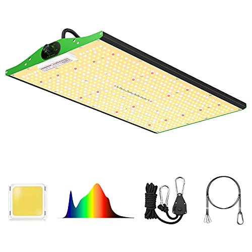 LED Grow Light, VIPARSPECTRA P2000 LED Grow Light 4x2ft Coverage Full Spectrum LED Grow Lights with Samsung LEDs(Includes IR), Dimmable Grow Light for Indoor Plants Seeding Veg and Bloom 700PCS LEDs