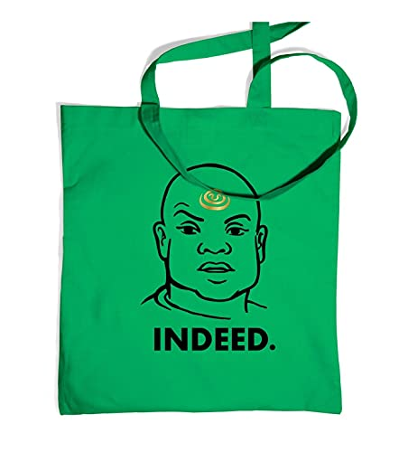 Tv And Film Bags By Big Mouth , Unisex Strandtasche Grün Kelly Green One Size Tote Bag
