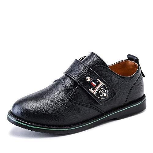 HYDKU Zapatos de Cordones Niños Zapatos De Cuero For Zapatos De Vestir...