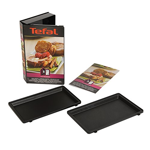 Tefal XA8001 Snack Collection Sandwich Platte Armer Ritter zwart