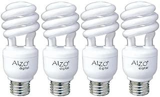 ALZO 15W Joyous Light Full Spectrum CFL Light Bulb 5500K, 750 Lumens, 120V, Pack of 4, Daylight White Light