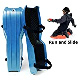 Product Image of the Sled Legs Wearable Snow Sleds – Fun Winter Accessories with Leg Support –...