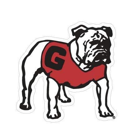 Craftique UGA Georgia Bulldogs Large 12 Standing Dawg Magnet