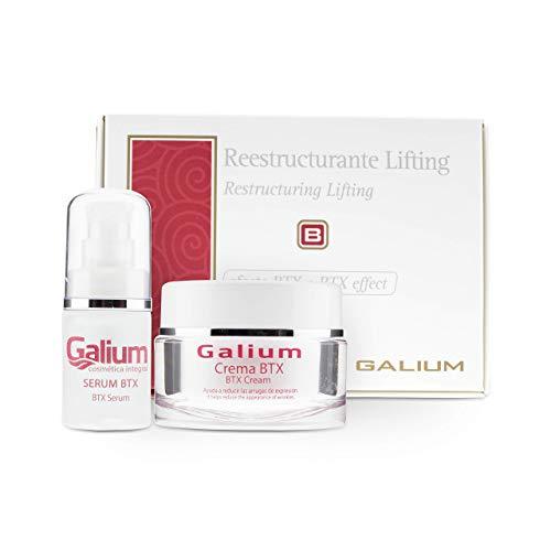 Lifting Facial Tratamiento PROFESIONAL | Reestructurante | Efecto BOTOX | Crema + Serum BTX PREMIUM | 2 Productos | Anti Edad, Anti Arrugas | Extracto de Caviar.