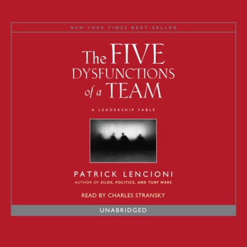Top five dysfunctions of a team audiobook for 2020