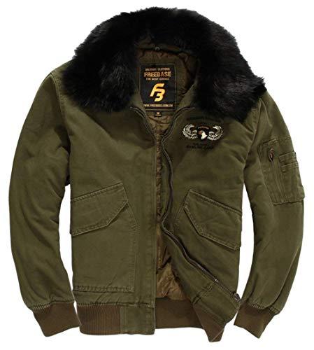 Heren Klassieke Winter Dik Katoen Bont Kwaliteit Hoge Moderne Casual Kraag Bomber Air Force Vlucht Heren Ntel Jassen Outdoor Kleding