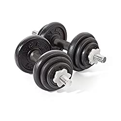 York Fitness Spinlock Dumbbells