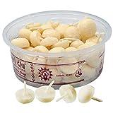60 velas de Ghee Puro, 160 g. Mecha de algodón, perfumada semicircular Diwali – Festival de la lucicombustión 30 min. S