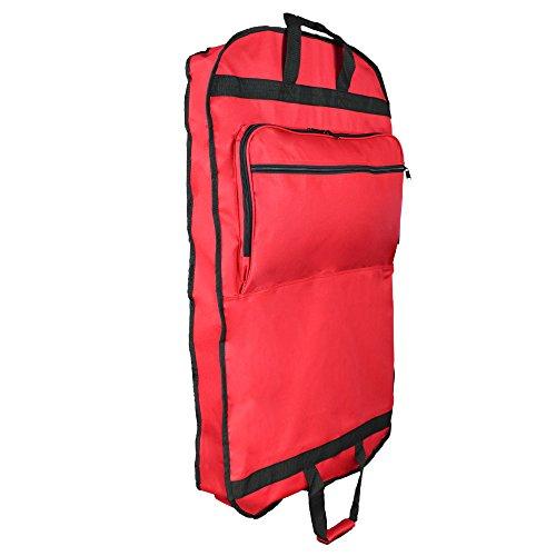 garment bag red - 1