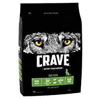Natural ingredients and a flavour your dog won't be able to say no to. Satisfy their nature with Crave lamb and beef dry dog food / Premium quality, meaty kibble for adult dogs Heavy protein-rich kibble, with real pieces of meat designed to help supp...