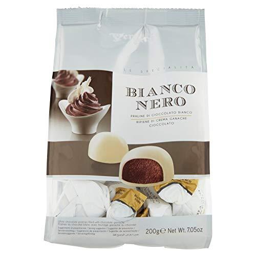 Vergani Praline di Cioccolato Bianco con Crema Fondente Ganache - 8 buste da 200 gr [1600 gr]
