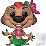 Disney: The Lion King - Luau Timon Funko Pop! Vinyl Figure (Includes Compatible Pop Box Protector Case)