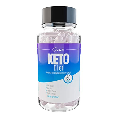 Keto Diet Pills Ketosis Diet Ketogenic Fat Burner (60 Capsules) - 1 Month Supply - Made in The UK