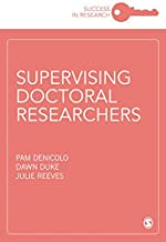 Supervising to Inspire Doctoral Researchers (Success in Research)