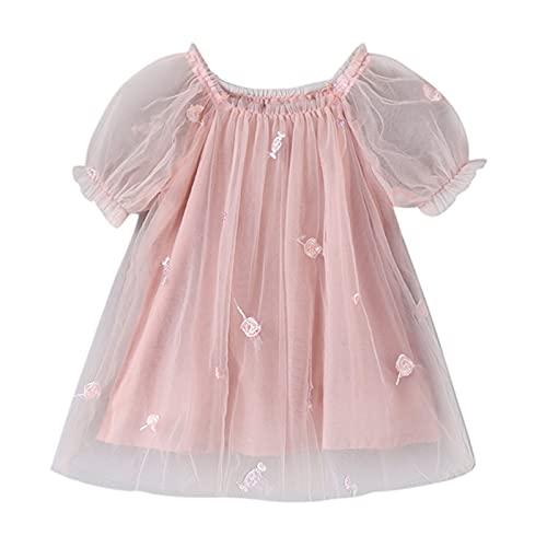 Keepwin Vestido Fiesta Niña Verano Ropa De Bebe Recien Nacido Vestido Princesa...