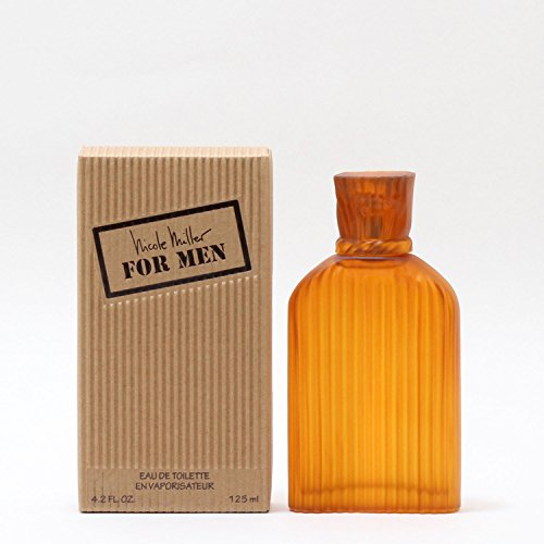 Nicole Miller Cologne EDT Spray for Men, 4.2 Ounce, orange (NI42M)