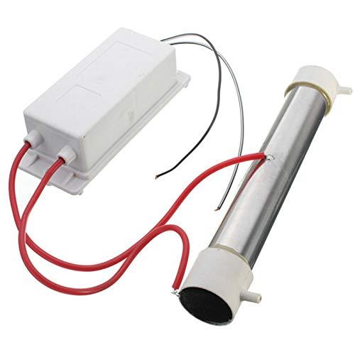 Motyy Generador de Ozono 3G 220V Purificador de Aire Esterilizador de Ozono Tubo de Cuarzo de Acero Inoxidable MáQuina de Ozonizador de Aire para Agua