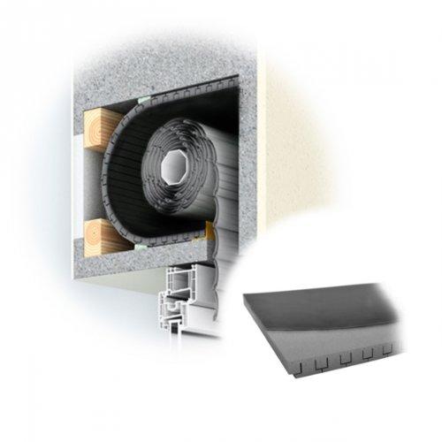 DIWARO. Rolladenkasten-Dämmung, 13 mm Dämmstärke, Länge 1000 mm, Jalousiekasten- Isolierung, Rolladendämmung, Wärmedämmung | (ROKA THERMO FLEX | 13 mm | 500 mm Breit)