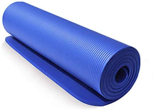 ZHANG Estera de Yoga para Ejercicio Estera de Yoga Estera de Yoga Almohadillas de Ejercicio Físico Espuma Antideslizante Estera de Alfombra Portátil Plegable Estera de Ejercicio,Blue
