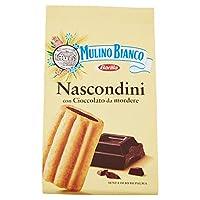 mulino bianco biscotti frollini nascondini, colazione ricca di gusto senza olio di palma, 330g