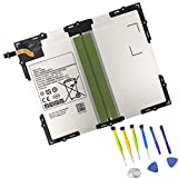 SUNNEAR EB-BT585ABE EB-BT585ABA Tablet Battery Replacement for Samsung Galaxy Tab A 10.1' 2016 SM-T580 SM-T585 SM-T585C SM-T587 SM-T587P SM-P585Y SM-P580 SM-P585 Series Tablet 7300mAh with Tools
