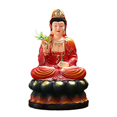 LHMYGHFDP Escultura De Kuan Yin/Guanyin Consagra Las Bendiciones Buda Feng Shui...