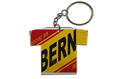LEotiE SINCE 2004 Schlüsselanhänger Stadt Bern Schweiz Trikot bedruckt