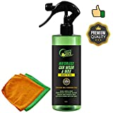 GREEN DUCK® Waterless Car Wash & Wax | Dry Car Wash | Just Spray, Wipe & Buff for Showroom Shine!